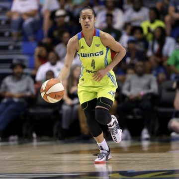 Dallas Wings Point Guard Skylar Diggins is Pregnant!!