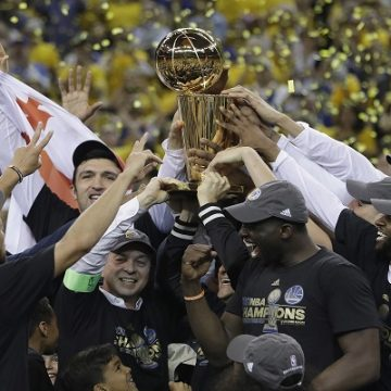 Warriors Win NBA Championship!