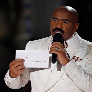 Steve Harvey Returns As Miss Universe Host!
