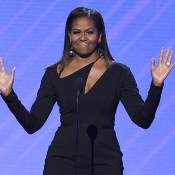 """Michelle Obama Unveils Cover Of Upcoming Memoir """"Becoming"""""""