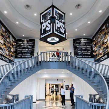Lebron Opens New I Promise School