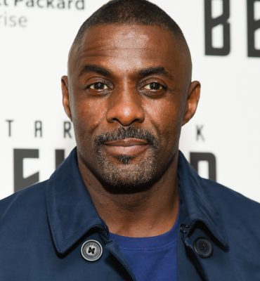 Idris Elba won the Rear of the Year Award in the UK