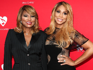Tamar is reportedly very mad at her mother over domestic violence comments
