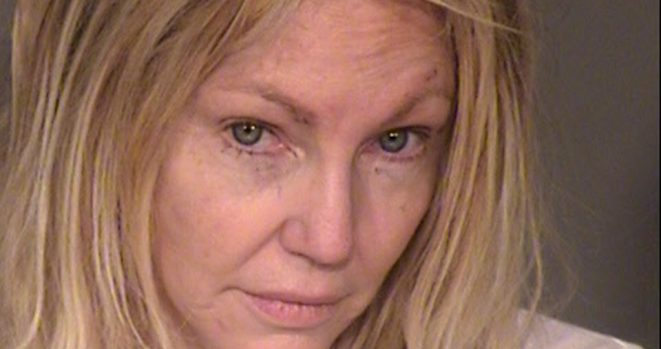 Heather Locklear was arrested for domestic violence and hitting 3 cops