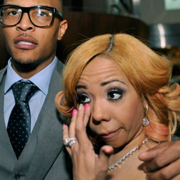 TI and Tiny's daughter knows the alphabet and she's only 2