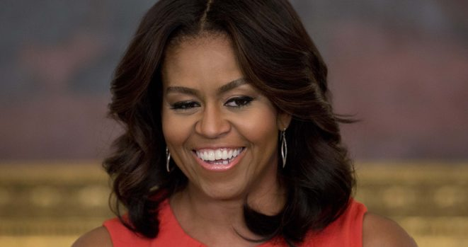 Michelle Obama partied with Tina Knowles at the Jay-Z and Beyonce concert