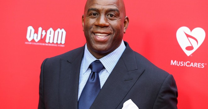 Magic Johnson is living like a king on a $680k a week yacht