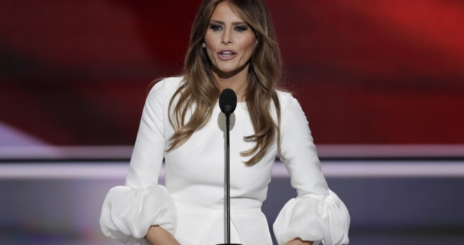 Melania Trump Slapped President Trump's Hand Away