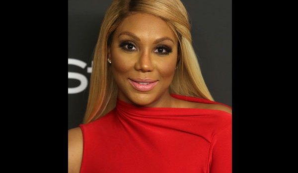 Tamar Braxton sang the National Anthem at the Dodgers game