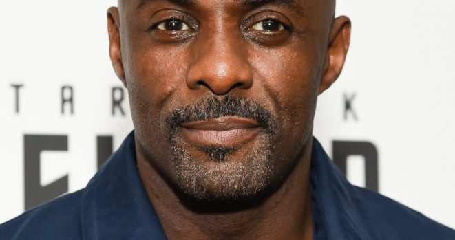 Idris Elba won the Rear of the Year Award in the UK