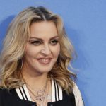Musician Madonna poses for photographers upon arrival at the World premiere of the film 'The Beatles, Eight Days a Week' in London, Thursday, Sept. 15, 2016. (AP Photo/Kirsty Wigglesworth)