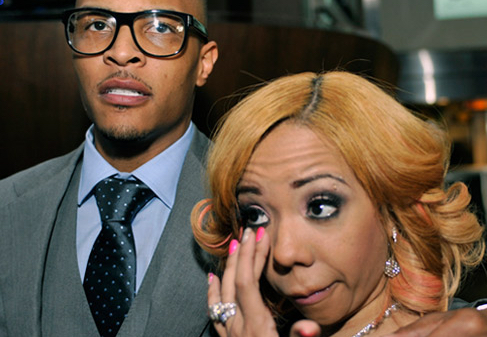 Did T.I. kind of say he left Tiny because she didn't give him the same pass he gave her