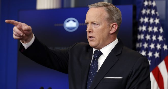 Sean Spicer really didn't like Melissa McCarthy's imitation of him