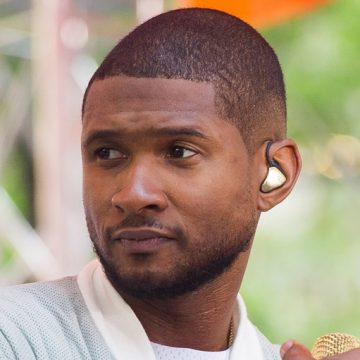 Usher is staying busy despite the scandal over herpes lawsuits