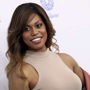 Laverne Cox says her and Beyonce are working on a collaboration