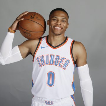 Russell Westbrook signed the largest NBA deal of all time