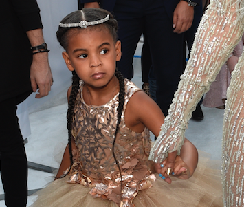 Blue Ivy dances her little heart out at her cousin Juelz's birthday party