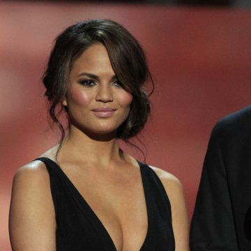Chrissy Teigen has apologized for letting her family down