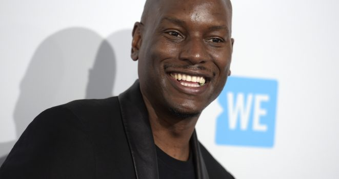 You're on notice that Tyrese says he's going to release a rap album