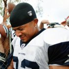 Former Dallas Cowboy Terry Glenn died in a car crash this morning