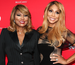 Tamar Braxton's mother Evelyn is scared for her daughter