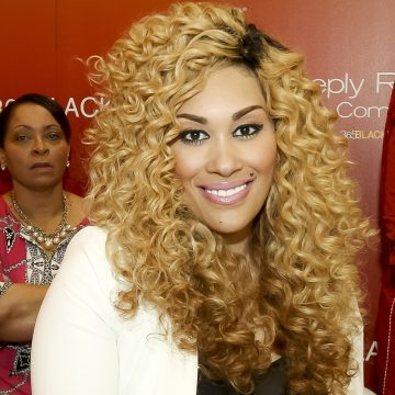 Keke Wyatt had her baby and now may have a new bae