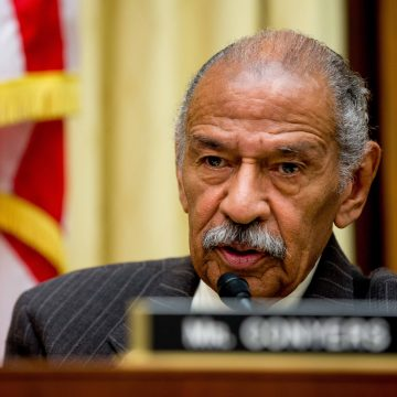 John Conyers has resigned his US representative seat in Congress