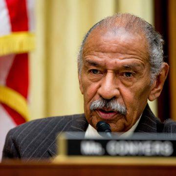 John Conyers has resigned his US representative seat in Congress