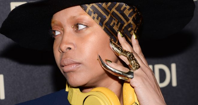 Erykah Badu set the record straight on the stalker in her home
