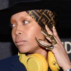Erykah Badu's daughter Puma sang Happy Birthday to her