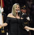 Fergie sang the National Anthem and the struggle was real
