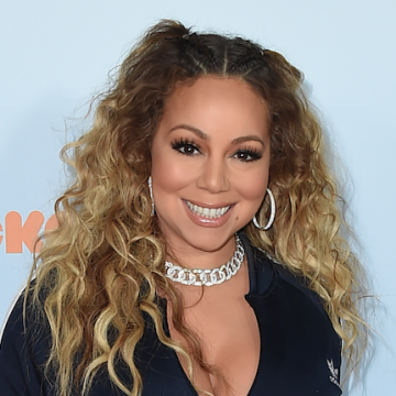 Mariah Carey has shared a photo of her bad side