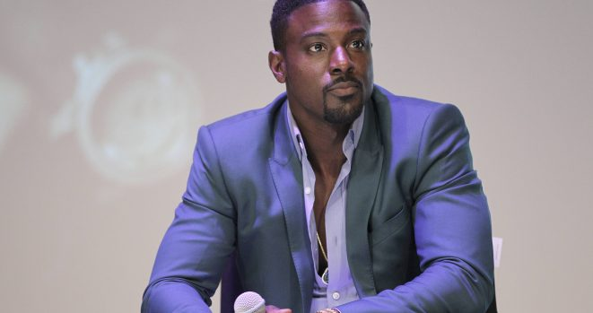 Lance Gross and his wife Rebecca have had their baby