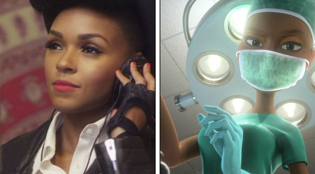 Janelle Monae is not only making her voice acting debut in the upcoming animated film Rio 2, but she also is featured on ... - blogmedia-m_janellemonae_rio2_2014-630x349