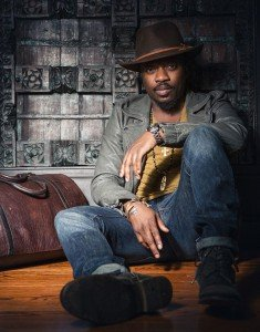 Anthony Hamilton sitting