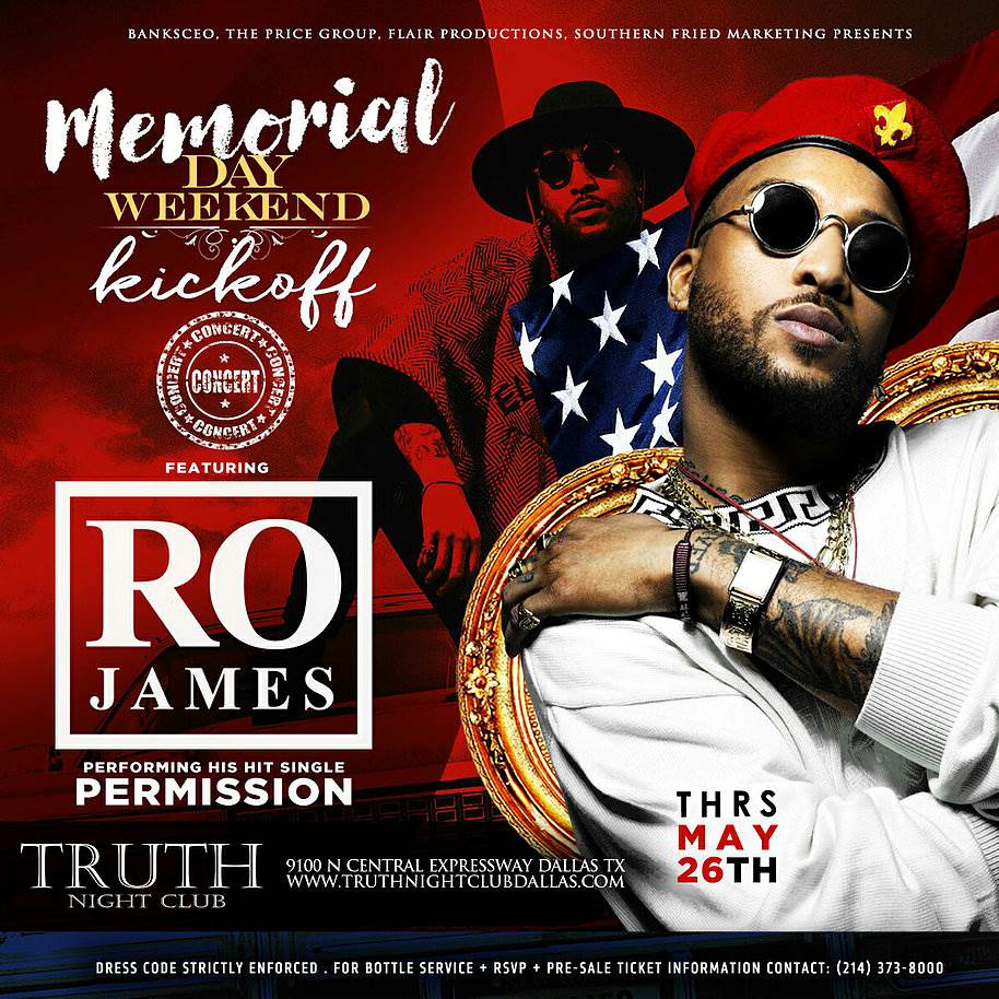 RO JAMES 5-26 @ TRUTH - artwork