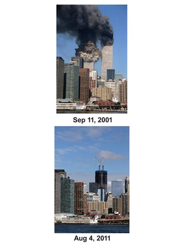 9/11 Then And Now Combo