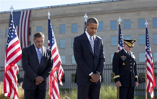 Barack Obama, Martin Dempsey, Leon Panetta