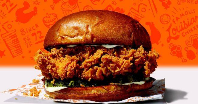 Popeyes chicken 3